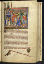 Miniature Representing St. John The Evangelist And Persecutions, In 'The Abingdon Apocalypse'